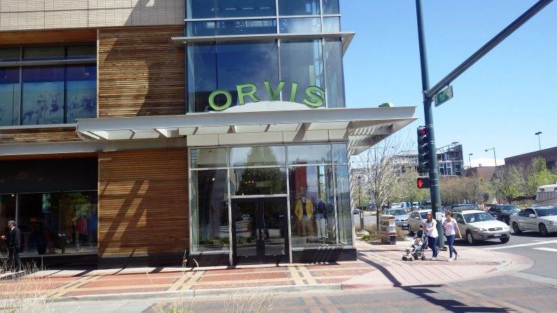 Le Orvis fly shop de Denver, une vraie caverne d'Ali Baba !