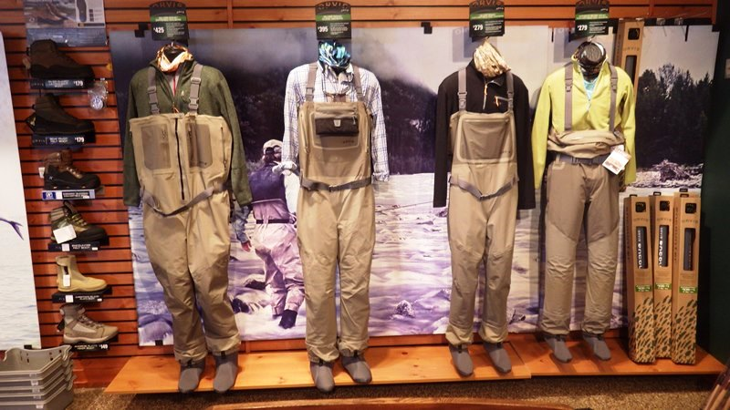 waders et chaussures
