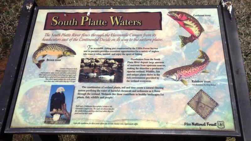 On trouve souvent dans les parcs nationaux de nombreuses infos sur les espèces présentes