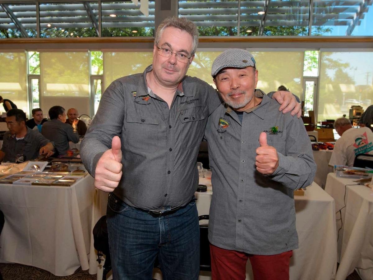 Jean-Paul et Junji Ichimura